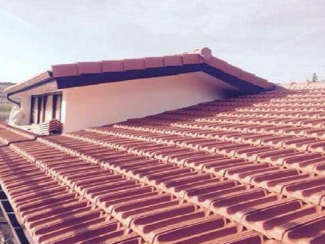 Tejados y fachadas en Vizcaya