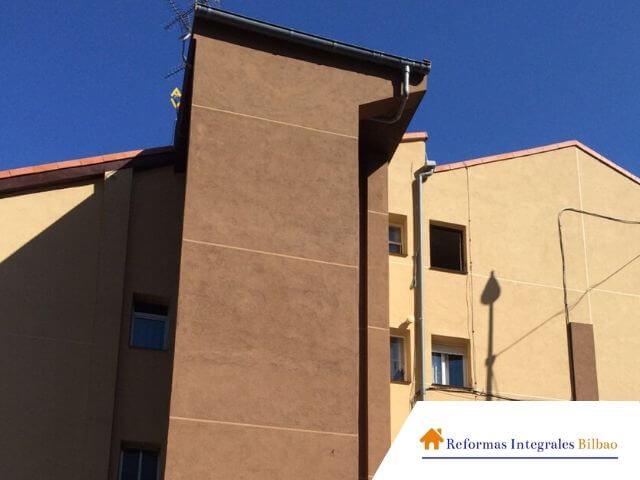 Empresa de reformas de fachadas en bizkaia