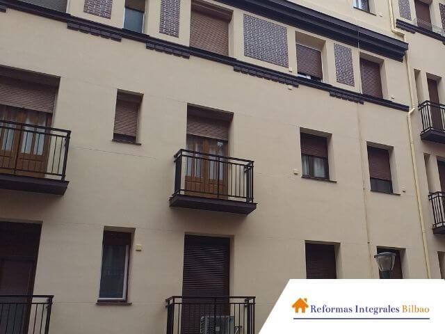 Reformas de fachadas en edificios